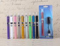 Wholesale Evod High Quality - High Quality EVOD MT3 Blister kits starter kit Clearomizer Rechargable Evod Battery 650mah 900mah 1100mah E cigarette Kits vape pen