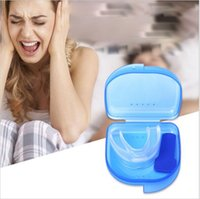 Wholesale Snore Stopper Mouth - Anti Snore Apnea Kit Mouthpiece anti snore mouth tray Snoring Stopper Stop Snoring Solution Safety Food grade material 1000 pcs YYA117
