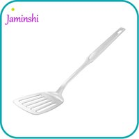 Wholesale German Kitchens - Home Kitchen German Technology 18 10 Stainless Steel Food Turners Cook Fish Steak Flat Handle Spatula Household Tool