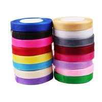 15mm 45 Metros Organza Ribbon Wedding Decoração Gift Craft DIY Bow Kids Casamento Event Party Supplies