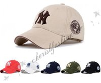 Wholesale Ny Cap Color - Fashion 20 Color Yankees Hip Hop MLB Snapback Baseball Caps NY Hats Unisex Sports Adjustable Bone Women Men casquette Casual headware Z353-B
