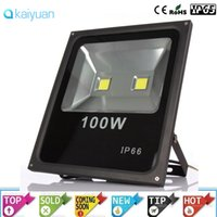 Wholesale High Power Led Project Light - led flood lights 100W High Power Floodlights Waterproof IP66 Warm Cold White Led Reflector outdoor project light Spotlight lighting