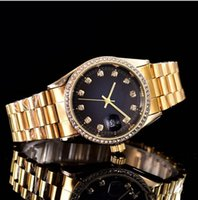 Wholesale Christmas Positions - 38mm Automatic diamond crown watch top luxury brand sports women gold watch AAA quality quartz function accurate positioning quartz watch