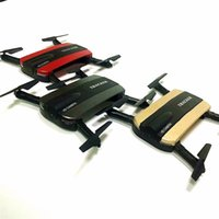 Wholesale Jxd Rc - New arrival JXD 523 Tracker Foldable Mini Rc Selfie Drone with Wifi FPV 720P HD Camera Altitude Hold&Headless Mode VS JJRC H37