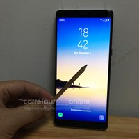Wholesale Highest Quality Video Camera - High Quality Goophone note8 Phones note 8 phone Android 6.0 MTK6580 64bit Quad Core Dual SIM 1440x720pixel 1GB RAM 16GB ROM GPS Smartphone