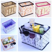 Wholesale Desktop Cases - Clean Up Makeup Box Desktop Clear Case Container Storage Box Jewelry Organizer Cosmetic Holder Stationery Beauty Sundry Storage Case D526