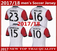 Wholesale United Wings - Washington wing 2017 MLS D.C. United Away soccer jerseys 17 18 Fabian Espindola Luis Silva soccer uniform men's football home thai quality
