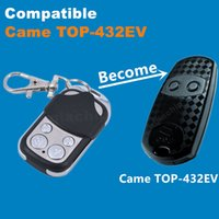 Wholesale Garage Door Remote Duplicator - Wholesale-433 Copy CAME TOP-432EV Duplicator 433.92 mhz remote control Universal Garage Door Gate Fob Remote Cloning 433mhz fixed code