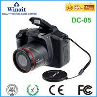 Wholesale Digital Camera Dslr Lens - Wholesale-free shipping 12MP dslr similar digital camera with 2.8'' TFT display and 4x digital zoom camera