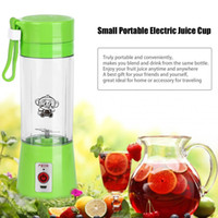 Squeezers & Reamers Plastic ECO Friendly Portable 380ml USB Rechargeable Electric Fruit Juicer Handheld Smoothie Maker Blender Mini Juice Squezers Water Bottle Drinkware