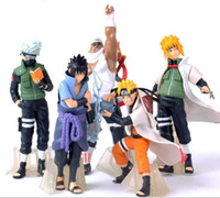 Wholesale Naruto Figures Set - New Come 5 pcs Set Naruto Figurine Classic Toys Cool Naruto Kakashi Sasuke Uzumaki Figure Anime Model for Children Gift Children