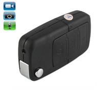 ingrosso portachiavi video digitale-macchina fotografica chiave S818 Auto Keychain DVR MINI DV mini videocamera digitale registratore video nero in scatola al minuto dropshipping