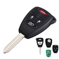 Wholesale auto remote entry - Brand New Uncut Remote Head Vehicle Auto Key Keyless Entry Combo Transmitter Fob for OHT692427AA AUP_424