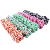 Wholesale Dog Tug Rope - 21cm Rope Dog Tug Toys Pets Puppy Chew Braided Tug Toy For Pets Dogs Training Bait Toys HJIA1060