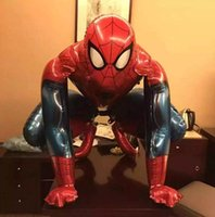 Spider-Man Birthday Large Balloon Model, Decorativo Party Family Meeting Toy, Large Spider-Man 90cm Envío gratis