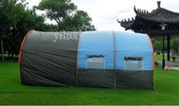 Wholesale Large Camping Tents - 10 persons large family tent camping tent tunnel tent