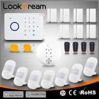 LookDream Smart Touch Security Wireless GSM Einbrecher Home Alarm Mit RFID Unternehmen Direktor Vertrieb Low Consumption Power