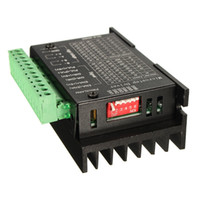 Wholesale 4a Motor - Wholesale- Newest 4.0A 42VDC CNC Single For Axis 4A TB6600 0.2 - 5A 2 4 Phase Stepper Motor Drivers Controller