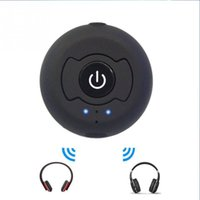 MP3 / MP4 Player Black FM/MP3 Transmitter car Multi-point Wireless Audio Bluetooth Transmitter Music Stereo Dongle Adapter For TV Smart PC MP3 H-366T Bluetooth 4.0 A2DP