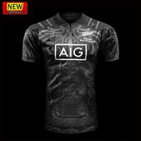 Wholesale Best T Shirt Men - Hot sales New Zealand Maori All Blacks Rugby 2017 2018 BLUES Welsh holden jersey Maroons Rugby Jerseys All Black t shirt Best Quality