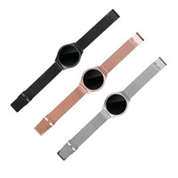 Wholesale Blood New Black - 2017 Brand New M7 Smart Bracelet watch 0.96 inch OLED Heart Rate Blood Pressure Monitor Bluetooth Fitness Tracker Wristband For Android IOS.