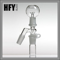 Wholesale Male Clip - Smoking Reclaim oil reclaime Ash Catcher 14.4mm or 18.8mm Male Female Joint 14mm or 18mm Glass Adapter With Keck Clip For Glass Bong Oil Rig