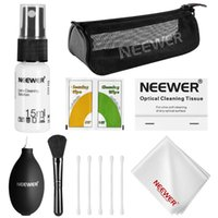 Wholesale Dslr Sensor Swabs - Wholesale- Neewer 7-in-1 Camera Cleaning Kit for DSLR Lens Sensor LCD Screen:Sensor Swab+Brush+Air Blower+Tissue Paper+Empty Spray Bottle