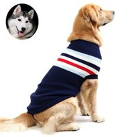 Wholesale Pitbull Jacket - 2016 New Flag British style Warn Thicker Sweater Dog Clothes For Dog Coat Jacket Clothing For Large Breeds Pitbull Boxer Free Shipping