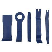 Wholesale Auto Molding - Wholesale- 5Pcs Auto Trim Door Panel Window Molding Upholstery Clip Removal Tool Kit 88