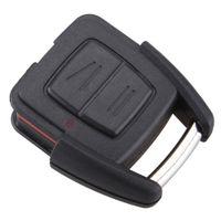 opel anahtar kasası toptan satış-Toptan Yüksek Kalite Siyah 2 Düğmeler Yedek Anahtar Uzaktan Fob Shell Kılıf Opel CIA_410 için Hiçbir Çip