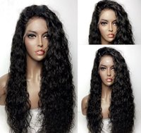 Wholesale best glueless lace front wigs resale online - Glueless Full Lace Wig Brzailian hair Full Lace Human Hair Wigs For Black Women Best Lace Front Wig With Baby Hair
