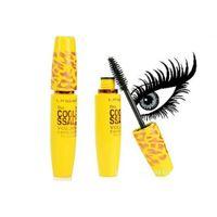 Wholesale Eyelash Extension Liquid - Wholesale-2 Pcs Set Cosmetic Extension Mascara Long Curling Eyelash Waterproof EyelinerSet Black Mascara + Liquid Eyeliner Makeup Tools