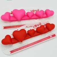 Wholesale Bath Articles - Tooth Brush Holders Five Heart Toothbrushs Holder Originality Home Furnishing Articles Peculiar Bath Room Accessories Free Shipping 4 2rq R