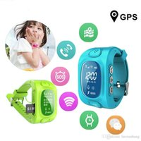 Wholesale Excelvan Q50 Smart Watch Kid Safe GPS Watch Wristwatch SOS Call Finder Locator Tracker for Kid Child Anti Lost Baby Gift