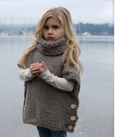 Wholesale Wool Sweaters For Kids - 2017 Spring New Baby Boys Sweaters Cotton Pullover Kids Girls Knitted Sweater for 1-5Y Girls Boys Cardigan Wholesale