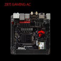 Wholesale Msi Mini - Wholesale-Msi Z87I GAMING AC High-Performance Mini ITX LGA 1150 Motherboard
