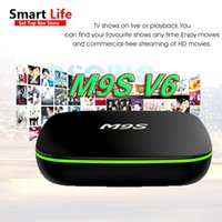M9S Android Smart OTT TV BOX M9S V6 Четырехъядерный интернет IPTV Box 1GB 8GB WIFI Интернет-игра Streaming Box поддерживает HDMI H.265 фильм бесплатно