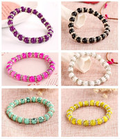 Wholesale Order Glasses China - Brand new Glass Diamond Bracelet Imitation Natural Crystal Bracelet Ornament Hand FB032 mix order 20 pieces a lot Beaded, Strands