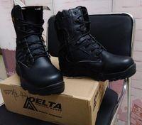 Wholesale Desert Boots Delta - Durable Outdoor Shoes Waterproof Delta Boots Desert Black Color Combat Boots Outdoor Shoes Breathable Wearable Tactical Boots