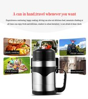 Wholesale Stainless Boiling Water - Portable Cooking Pot Travel cooking tool Coffee Holder Soup Cooking Pot Water boiling Electric Thermos