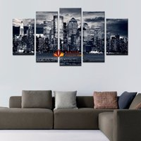 5 peças de tela impressa Wall Decor Canvas Decoração para casa Wall Art Pictures Paisagem Large Canvas Art Cheap -Modern abstract oil painting o