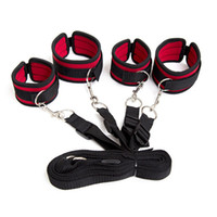 Wholesale game sex feet resale online - New Adult Games sex tools Bondage Under Bed Restraint Foot HandCuffs bondage restraints Love Sex Toys For Couples