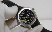 Wholesale Wholesale Luxury - Luxury Mens Watch Aquanaut Black Dial Sapphire Steel Automatic Rubber Sport Men's Mechanical Watches