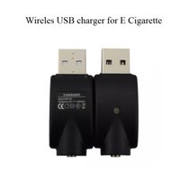 Wholesale Pen Usb Adapter - O-Pen Battery Charger Wireless eGo USB Charger Electronic Cigarette charger black usb charge adapter for all ego 510 thread battery
