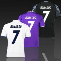 Wholesale Order Football Jerseys Cheap - Real Madrid Home away third shirt game uniform 2016 2017 mens Thai quality soccer jerseys FC cheap football set accept custom mix order