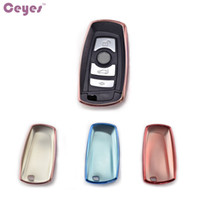Wholesale Bmw Series Accessories - Patent TPU Car Auto Remote Key Case Cover Shell for bmw 2 3 4 5 6 Series X3 X4 GT Car Accessories Styling