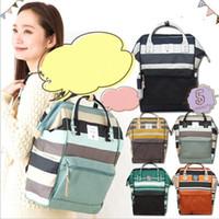 ingrosso fashion hangbags-Zaini di marca Fashion Desinger Hangbags Borse da viaggio all'aperto Borse a tracolla impermeabili Campus Stripe Zaino Laptop Bag Organizer KKA2634
