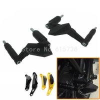 Motorcycle Engine Stator Cover Frame Motos Slider Protector Or pour Yamaha MT07 MT-07 2014 2015