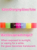 Wholesale Tube Magic - Magic Color change changing Replacement glass tubes for Smok tfv8 baby X 2ml 3ml 5ml big beast tfv12 prince vape pen plus tank