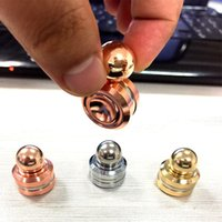 Wholesale 2017 New Fidget Toy Magnetic ORBITER Hand Spinner Metal Finger Spinner For decompression anxiety DHL Free
